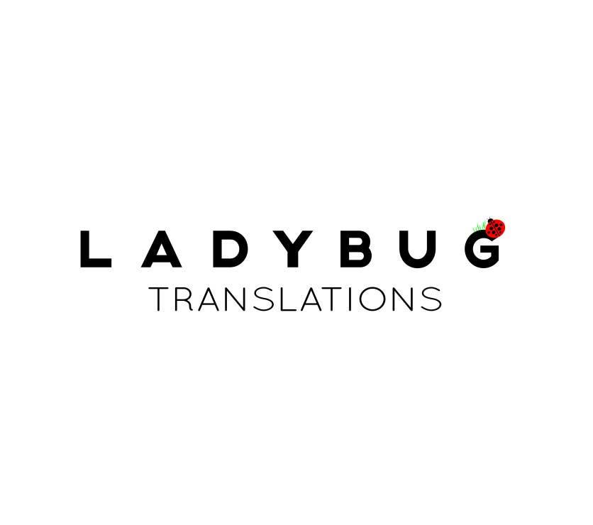 Entry #10 by annievisualart for Ladybug Translations needs Logo ...