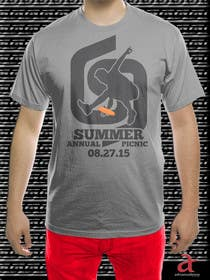 adrianusdenny tarafından Design a T-Shirt for Company BBQ için no 45