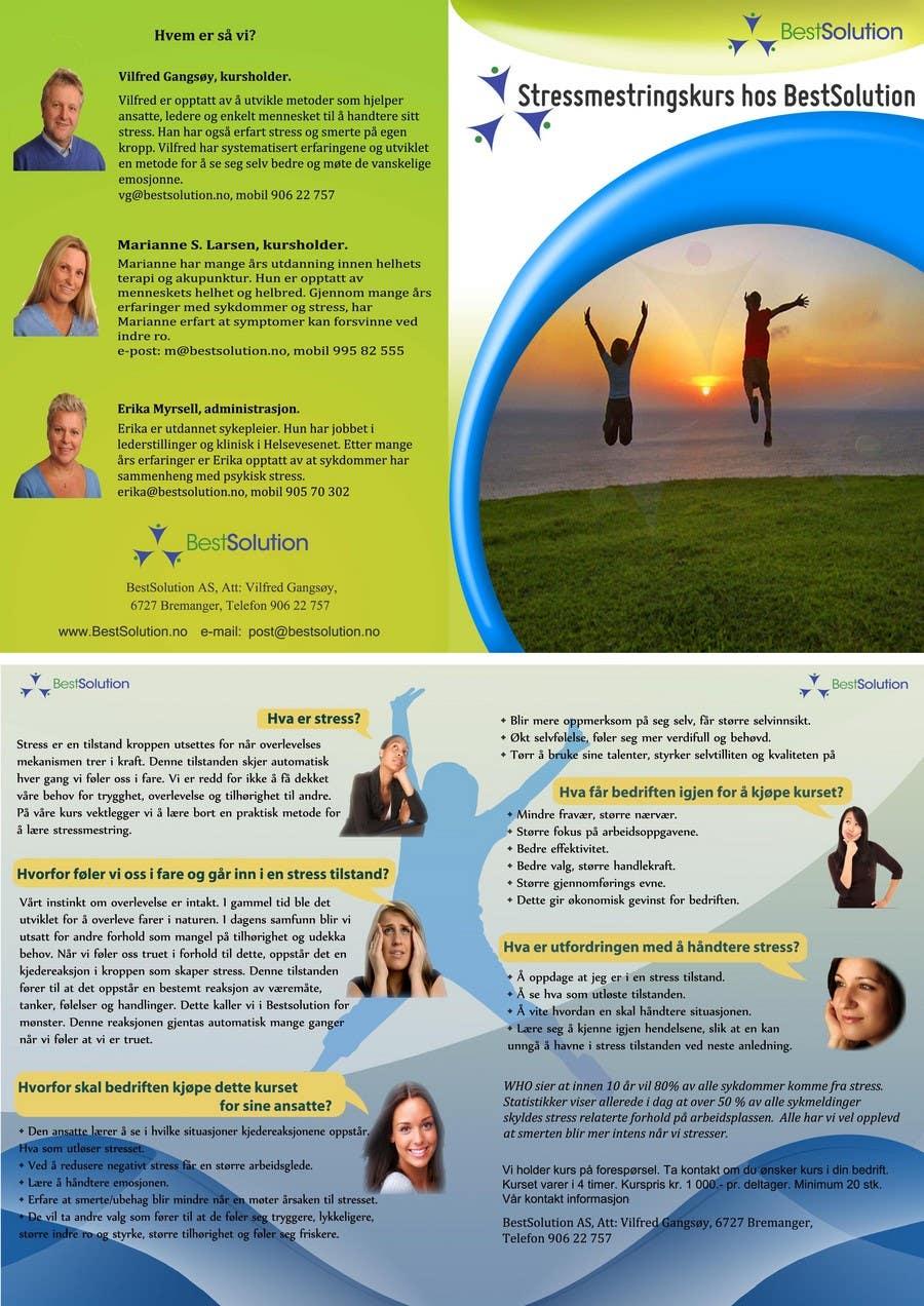 Конкурсная заявка №14 для Brochure Design for BestSoluton.no
