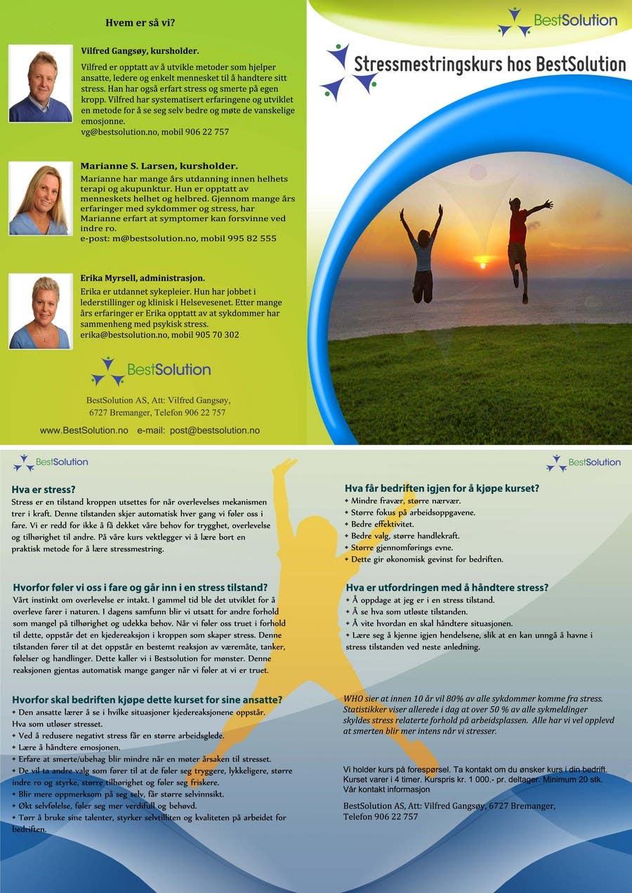 Inscrição nº                                         12                                      do Concurso para                                         Brochure Design for BestSoluton.no