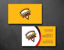 #38 untuk Design some Business Cards for Gotzza Pizza oleh SarahDar
