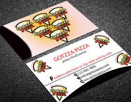 #41 untuk Design some Business Cards for Gotzza Pizza oleh lipiakhatun586