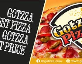 #42 untuk Design a Banner for GOTZZA PIZZA oleh designerart94