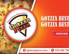 #26 untuk Design a Banner for GOTZZA PIZZA oleh shudiptobanarjee