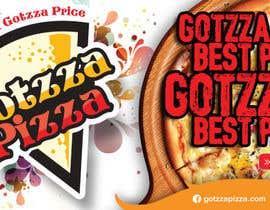 #38 untuk Design a Banner for GOTZZA PIZZA oleh shudiptobanarjee