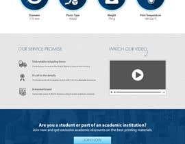 #20 untuk Design a Stunning Website PSD oleh Creativityends