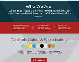 #34 untuk Design a Stunning Website PSD oleh styleworksstudio