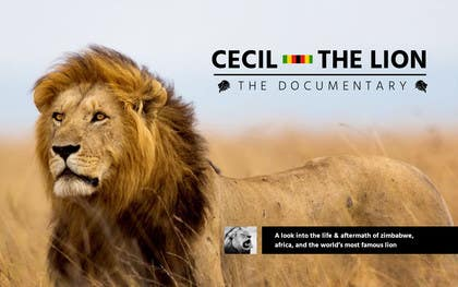 #4 untuk Design a Logo for Cecil the Lion - The Documentary oleh Nadasol