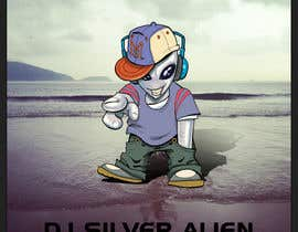 afidiazperera tarafından Illustrate Something for DJ Silver Alien mascot için no 70