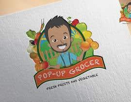 #243 untuk Pop-up  Grocer logo oleh kimuchan