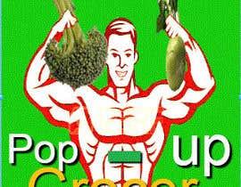 #301 untuk Pop-up  Grocer logo oleh ashish98420