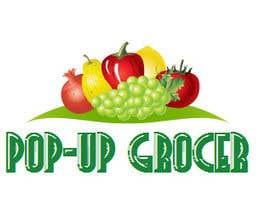 #299 untuk Pop-up  Grocer logo oleh ooolga1979