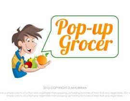 #152 untuk Pop-up  Grocer logo oleh djmalibiran