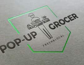 #197 untuk Pop-up  Grocer logo oleh gadolunium