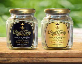 Med7008 tarafından Packaging design for Royal Honey için no 12