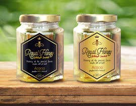Med7008 tarafından Packaging design for Royal Honey için no 14