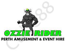 Cube88 tarafından Design a Logo for Ozzie Rider Perth Amusement & Event Hire için no 16
