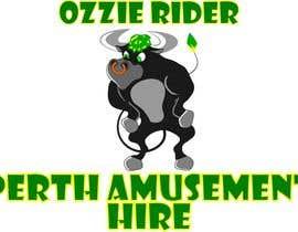 boki9091 tarafından Design a Logo for Ozzie Rider Perth Amusement & Event Hire için no 12