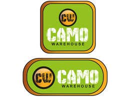 #62 untuk Design a Logo for Camo Warehouse oleh rananyo