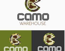 #65 untuk Design a Logo for Camo Warehouse oleh anandroshan