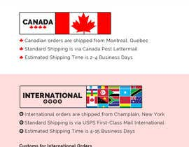 #3 for Simple Design of Shipping Page for StrapsCo.com by bandiachorwadi