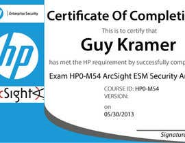 #27 untuk I need a certificate designing for an exam - EASY oleh LucianCreative
