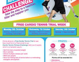 #16 for Design a Flyer for Cardio Tennis by naikerhiroko