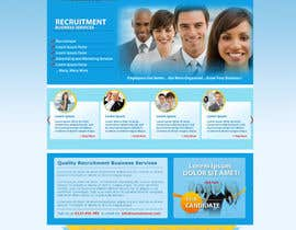 #18 for Recruitment website home page design af grafixeu