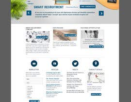 #11 cho Recruitment website home page design bởi QubixDesigns