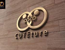 "#76 untuk Design a Logo for ""CoCo CUTEture"" oleh nizagen"