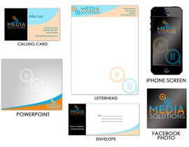 #9 untuk Corporative Image: Business Card, Paper, Envelop, etc oleh jengcapilos
