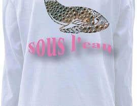#53 untuk Design a T-Shirt for sous l'eau (underwater) oleh elliondesignidea