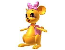 leona1314 tarafından Kangaroo female cartoon style 3D için no 21
