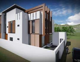 markoculibrk tarafından Villa Exterior Design (3D rendering) için no 9