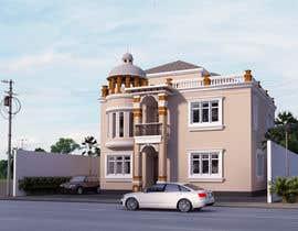 ars001 tarafından Villa Exterior Design (3D rendering) için no 7