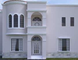 javiermejiaki tarafından Villa Exterior Design (3D rendering) için no 22