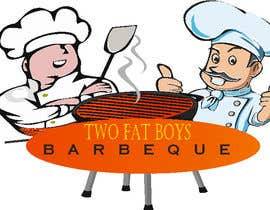 #35 untuk Design a Logo for  2 Fat Boys bbq foodtruck oleh khusnul87