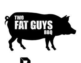 higginscr2 tarafından Design a Logo for  2 Fat Boys bbq foodtruck için no 1