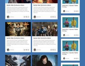 #7 untuk Design a Website Mockup for Social Networking Site oleh negibheji
