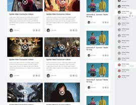 #9 untuk Design a Website Mockup for Social Networking Site oleh negibheji
