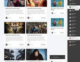 #14 untuk Design a Website Mockup for Social Networking Site oleh negibheji