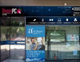 #6 untuk Diseñar rótulos de fachada tienda informática/electrónica oleh lizisaf123