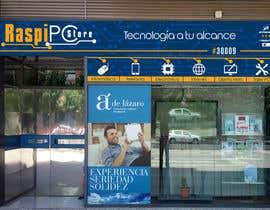 #22 untuk Diseñar rótulos de fachada tienda informática/electrónica oleh JMorell
