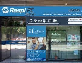 #2 untuk Diseñar rótulos de fachada tienda informática/electrónica oleh colcrt