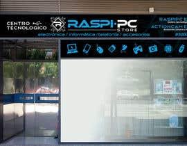 #16 untuk Diseñar rótulos de fachada tienda informática/electrónica oleh claudioosorio