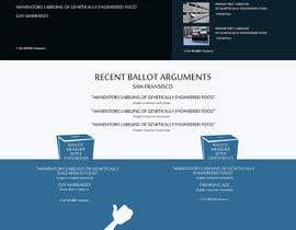 #81 untuk Design a Website Mockup for Friends of Ethics oleh styleworksstudio