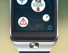 #158 for NASA Challenge: Astronaut Smartwatch App Interface Design. by thomasdch