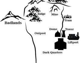 brissiaboyd tarafından Alter a map for my book için no 3