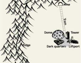 brcarlospedroza tarafından Alter a map for my book için no 14