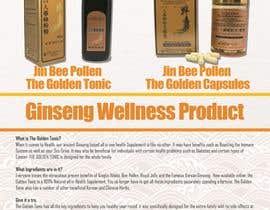 achinsk tarafından Design a Brochure for Ginseng Wellness Product için no 1